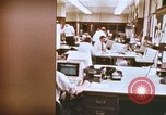 Image of Use of early computers in newspaper production Detroit Michigan USA, 1974, second 4 stock footage video 65675021551