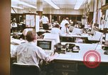 Image of Use of early computers in newspaper production Detroit Michigan USA, 1974, second 5 stock footage video 65675021551