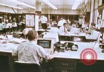 Image of Use of early computers in newspaper production Detroit Michigan USA, 1974, second 6 stock footage video 65675021551