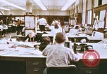 Image of Use of early computers in newspaper production Detroit Michigan USA, 1974, second 9 stock footage video 65675021551
