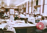 Image of Use of early computers in newspaper production Detroit Michigan USA, 1974, second 13 stock footage video 65675021551