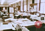 Image of Use of early computers in newspaper production Detroit Michigan USA, 1974, second 15 stock footage video 65675021551