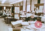 Image of Use of early computers in newspaper production Detroit Michigan USA, 1974, second 17 stock footage video 65675021551