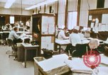 Image of Use of early computers in newspaper production Detroit Michigan USA, 1974, second 18 stock footage video 65675021551