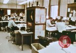 Image of Use of early computers in newspaper production Detroit Michigan USA, 1974, second 19 stock footage video 65675021551