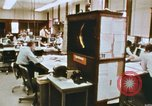Image of Use of early computers in newspaper production Detroit Michigan USA, 1974, second 21 stock footage video 65675021551