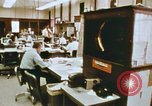 Image of Use of early computers in newspaper production Detroit Michigan USA, 1974, second 22 stock footage video 65675021551