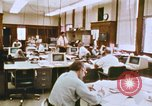 Image of Use of early computers in newspaper production Detroit Michigan USA, 1974, second 25 stock footage video 65675021551