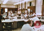 Image of Use of early computers in newspaper production Detroit Michigan USA, 1974, second 26 stock footage video 65675021551
