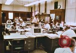 Image of Use of early computers in newspaper production Detroit Michigan USA, 1974, second 27 stock footage video 65675021551