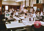Image of Use of early computers in newspaper production Detroit Michigan USA, 1974, second 29 stock footage video 65675021551