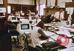 Image of Use of early computers in newspaper production Detroit Michigan USA, 1974, second 32 stock footage video 65675021551