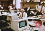 Image of Use of early computers in newspaper production Detroit Michigan USA, 1974, second 35 stock footage video 65675021551