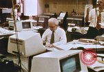 Image of Use of early computers in newspaper production Detroit Michigan USA, 1974, second 36 stock footage video 65675021551