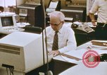 Image of Use of early computers in newspaper production Detroit Michigan USA, 1974, second 38 stock footage video 65675021551