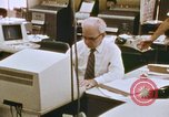 Image of Use of early computers in newspaper production Detroit Michigan USA, 1974, second 39 stock footage video 65675021551