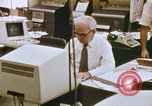 Image of Use of early computers in newspaper production Detroit Michigan USA, 1974, second 40 stock footage video 65675021551