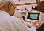 Image of Use of early computers in newspaper production Detroit Michigan USA, 1974, second 43 stock footage video 65675021551