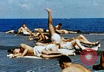 Image of food and medical services aboard USS Yorktown World War 2 Pacific Ocean, 1943, second 19 stock footage video 65675021555