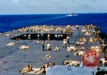 Image of food and medical services aboard USS Yorktown World War 2 Pacific Ocean, 1943, second 31 stock footage video 65675021555