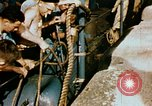Image of food and medical services aboard USS Yorktown World War 2 Pacific Ocean, 1943, second 43 stock footage video 65675021555