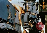 Image of food and medical services aboard USS Yorktown World War 2 Pacific Ocean, 1943, second 52 stock footage video 65675021555