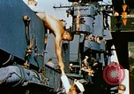 Image of food and medical services aboard USS Yorktown World War 2 Pacific Ocean, 1943, second 53 stock footage video 65675021555