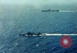 Image of USS Yorktown day before attacking Marcus Island Pacific Ocean, 1943, second 4 stock footage video 65675021556