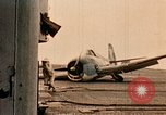 Image of burial at sea aboard USS Yorktown in World War  Pacific Theater, 1944, second 34 stock footage video 65675021567