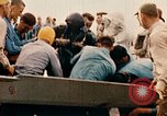 Image of burial at sea aboard USS Yorktown in World War  Pacific Theater, 1944, second 46 stock footage video 65675021567