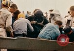 Image of burial at sea aboard USS Yorktown in World War  Pacific Theater, 1944, second 47 stock footage video 65675021567