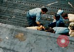 Image of burial at sea aboard USS Yorktown in World War  Pacific Theater, 1944, second 55 stock footage video 65675021567