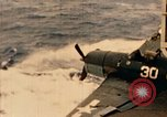 Image of burial at sea aboard USS Yorktown in World War  Pacific Theater, 1944, second 56 stock footage video 65675021567