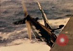 Image of burial at sea aboard USS Yorktown in World War  Pacific Theater, 1944, second 58 stock footage video 65675021567