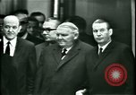 Image of President Heinrich Lubke Dulles Virginia USA, 1963, second 19 stock footage video 65675021647