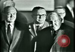 Image of President Heinrich Lubke Dulles Virginia USA, 1963, second 28 stock footage video 65675021647