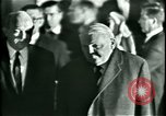 Image of President Heinrich Lubke Dulles Virginia USA, 1963, second 32 stock footage video 65675021647