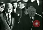 Image of President Heinrich Lubke Dulles Virginia USA, 1963, second 34 stock footage video 65675021647