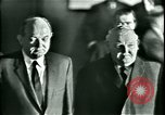 Image of President Heinrich Lubke Dulles Virginia USA, 1963, second 36 stock footage video 65675021647
