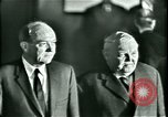 Image of President Heinrich Lubke Dulles Virginia USA, 1963, second 39 stock footage video 65675021647