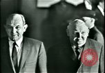 Image of President Heinrich Lubke Dulles Virginia USA, 1963, second 42 stock footage video 65675021647