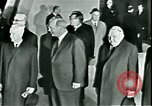 Image of President Heinrich Lubke Dulles Virginia USA, 1963, second 44 stock footage video 65675021647