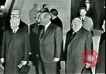 Image of President Heinrich Lubke Dulles Virginia USA, 1963, second 46 stock footage video 65675021647