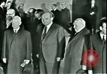Image of President Heinrich Lubke Dulles Virginia USA, 1963, second 53 stock footage video 65675021647