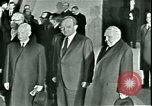 Image of President Heinrich Lubke Dulles Virginia USA, 1963, second 54 stock footage video 65675021647