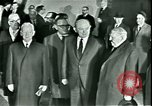 Image of President Heinrich Lubke Dulles Virginia USA, 1963, second 58 stock footage video 65675021647