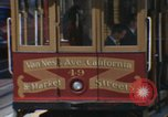 Image of cable cars of San Francisco San Francisco California USA, 1968, second 4 stock footage video 65675021684