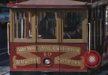 Image of cable cars of San Francisco San Francisco California USA, 1968, second 5 stock footage video 65675021684