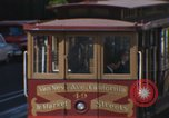 Image of cable cars of San Francisco San Francisco California USA, 1968, second 6 stock footage video 65675021684