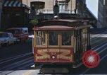 Image of cable cars of San Francisco San Francisco California USA, 1968, second 7 stock footage video 65675021684